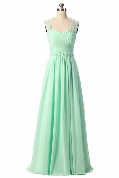 Long Bridesmaid Dress, Chiffon Bridesmaid Dress, Sleeveless Bridesmaid Dress, A-Line Dress for Wedding, Open-Back Bridesmaid Dress, Beach Bridesmaid Dress, LB0326